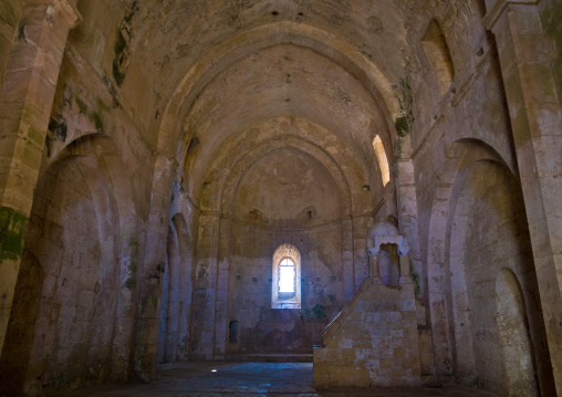 Chapel Inside The Krak Des Chevaliers, Homs, Homs Governorate, Syria