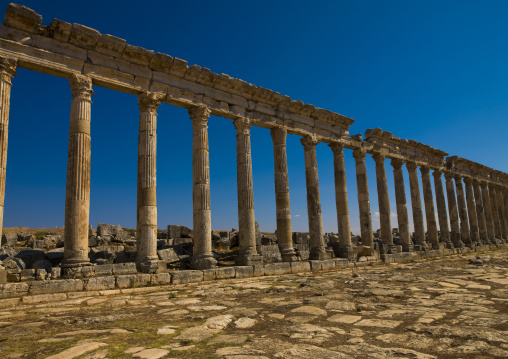Columned Ancient Street, Apamea, Syria
