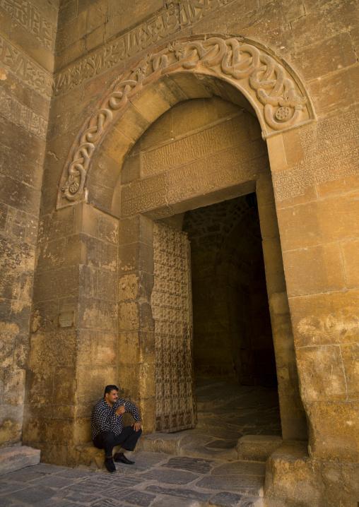 Entrance Of Aleppo Citadel, Syria