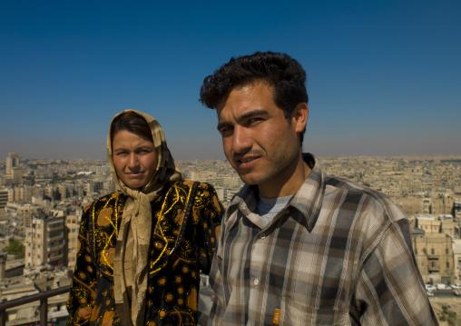 Couple Of Syrian, Aleppo, Syria