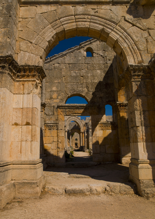 The Church of Saint Simeon Stylites, Syria