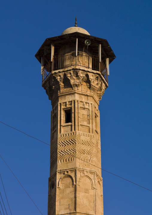 Minaret Of Al-Atroush Mosque, Aleppo, Syria