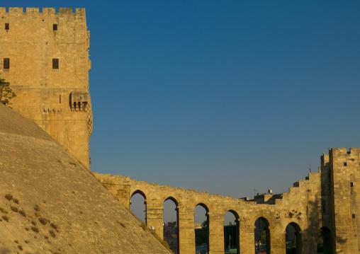 Bridge Leading To The Citadel, Aleppo, Aleppo Governorate, Syria