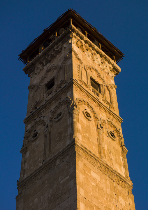 Minaret Of The The Great Mosque, Aleppo, Syria