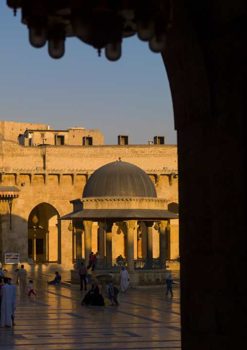 The Great Mosque, Aleppo, Syria