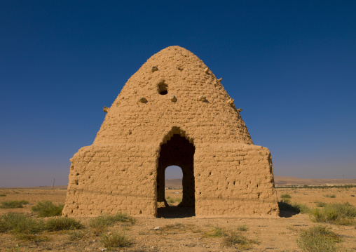 Traditional beehive houses made of mud, Hama, Syria