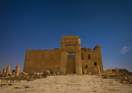 Temple Of Bel In The Ancient Roman city of Palmyra, Syria