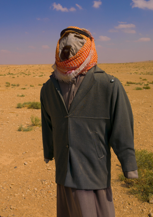 Scarecrow Near Aleppo, Syria