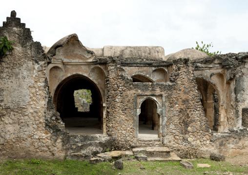 Old mosque in kilwa kisiwani, Tanzania