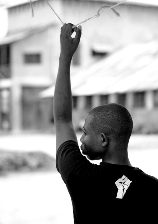 Teenager from tanzania