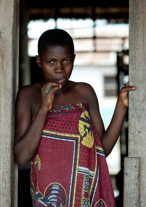 Girl from kilwa kivinje village, Tanzania