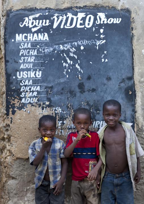 Kids in kilwa kivinje village,Tanzania