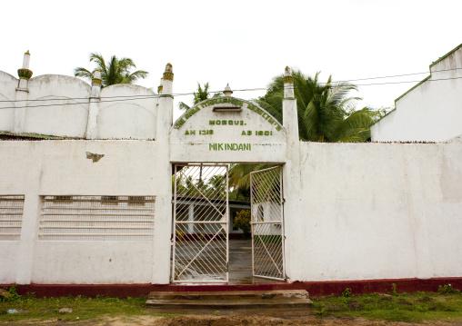 Old mikindani mosque, Tanzania