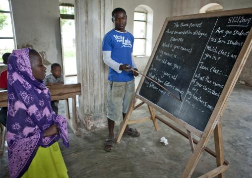 Mikindani school, Tanzania