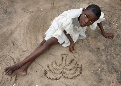 Girl in mikindani, Tanzania