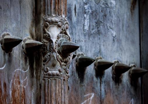 Door in stone town zanzibar, Tanzania
