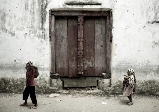 Door in pemba, Tanzania