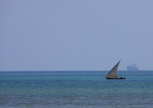 Dhow in pemba, Tanzania