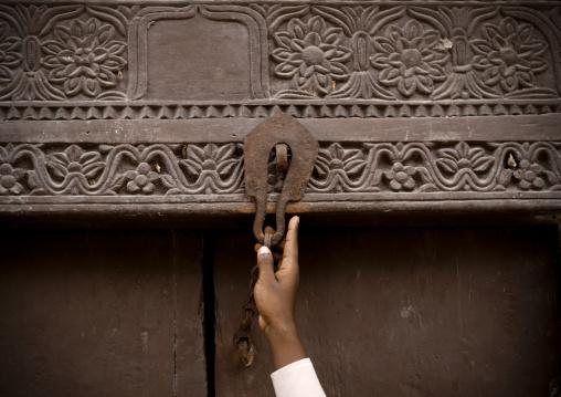 Door lock, Bagamoyo, Tanzania