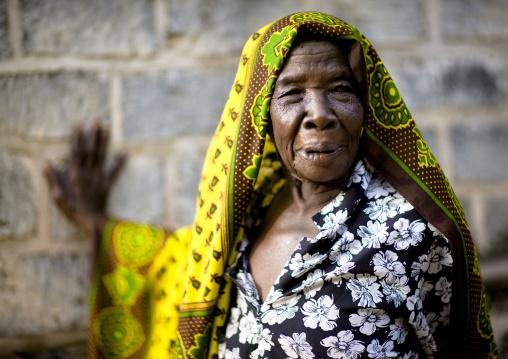 Margarita, Christian old woman, Bagamoyo, Tanzania