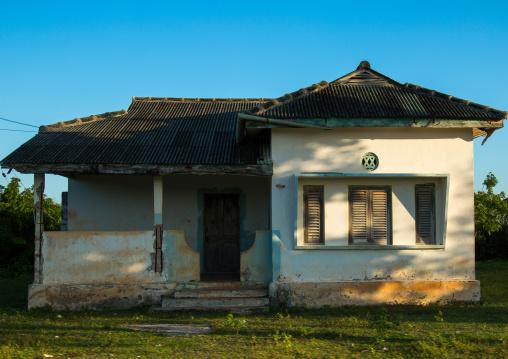 Tanzania, Zanzibar, Kizimkazi, traditional house