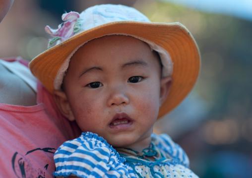 Ban nam rin village, Lisu tribe bbay, Thailand