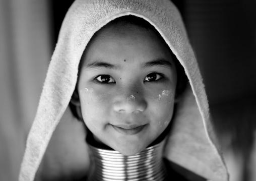Miss mujee, 12 Years, Karens long neck, Mae hong son area, Thailand