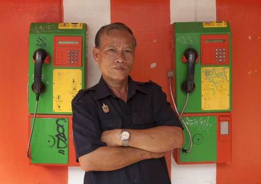 Security guard, Bangkok, Thailand