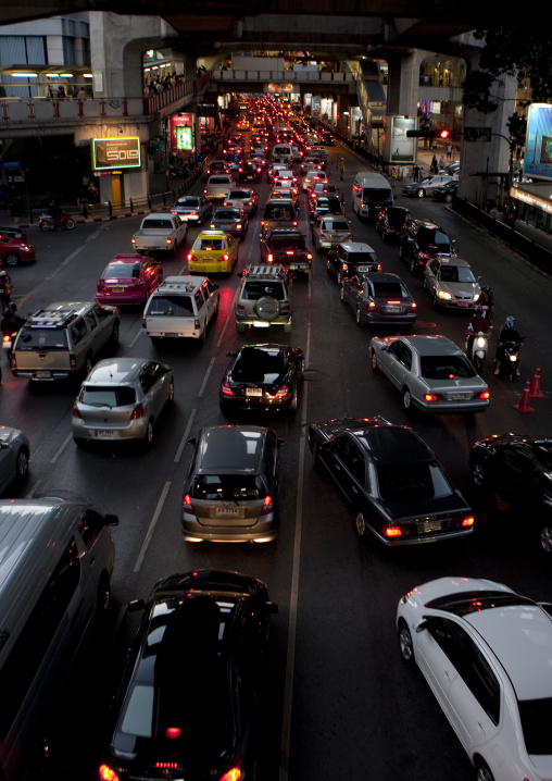 Trafic jams, Bangkok, Thailand