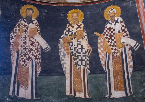 Mosaics and paintings in the byzantine church of st. Savior in Chora, Edirnekapı, istanbul, Turkey