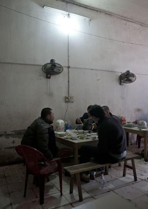 Men having a meal, Sapa, Vietnam