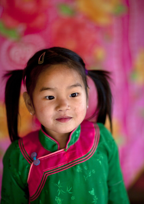 Giay girl with plaits, Sapa, Vietnam