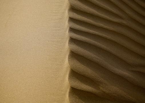 Waves On A Sand Dune, Marib Desert,  Yemen