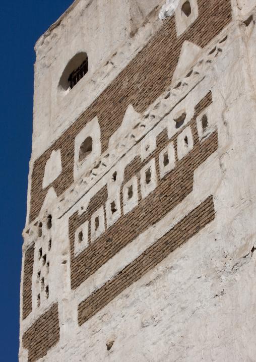 Traditional Building Front, Sanaa, Yemen
