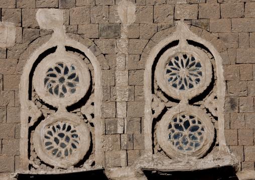 Rose Windows In Sanaa, Yemen