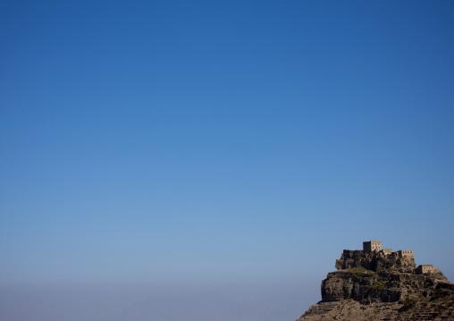 Kholan Mountain Village Under The Blue Sky, Yemen