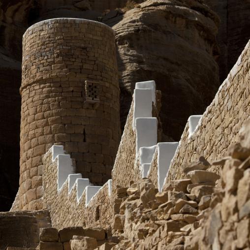 View Of The Ramparts, Thula, Yemen