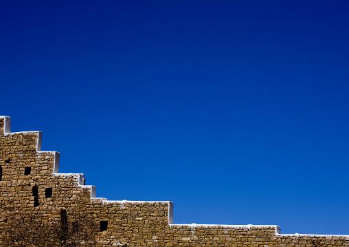 Ramparts Under The Blue Sky, Thula, Yemen
