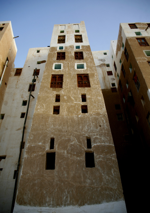 Tall Buildings In Shibam, Yemen