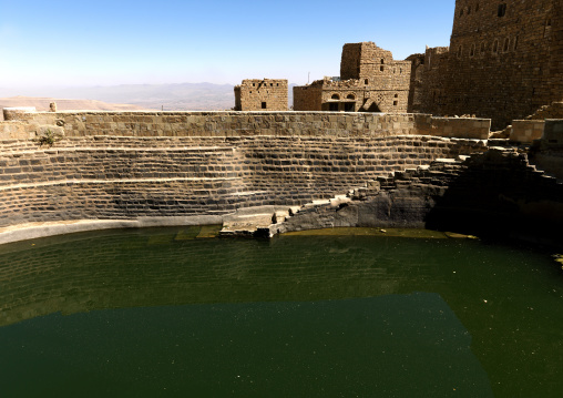 Water Pond In Thula, Yemen
