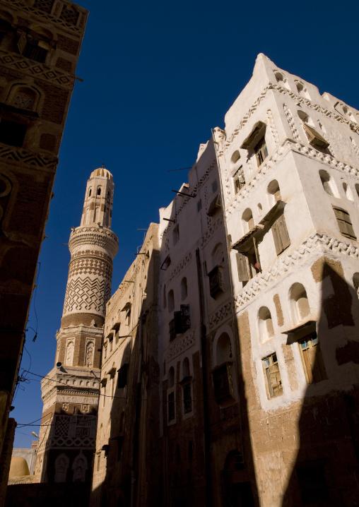 Traditional Building In Old Sanaa, Yemen