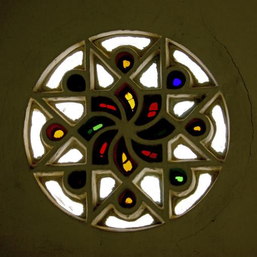Stained Glass Window Taken Rom Inside, Sanaa, Yemen