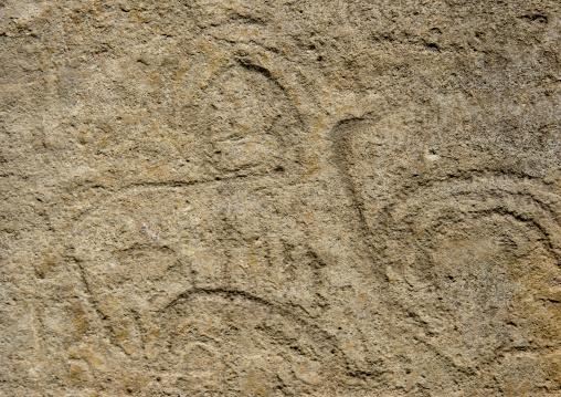 Prehistoric Carving, Wadi Dhar, Yemen