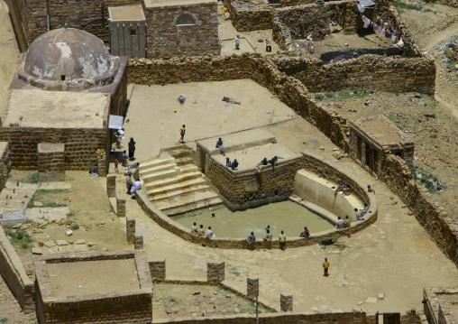 Water Cistern In Hababa, Yemen