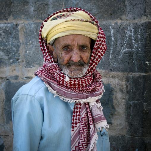 Old Yemeni Man, Sanaa, Yemen