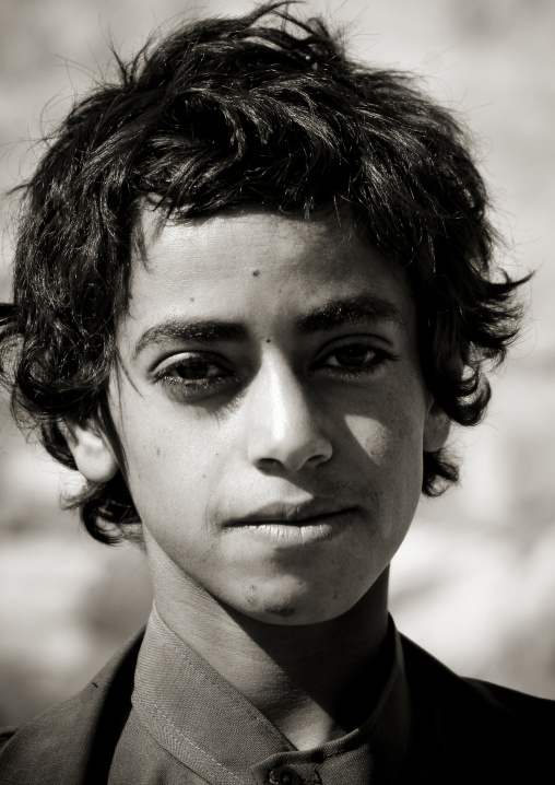 Boy In Hababa, Yemen