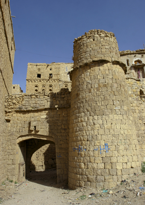 Fortifications In Hababa, Yemen