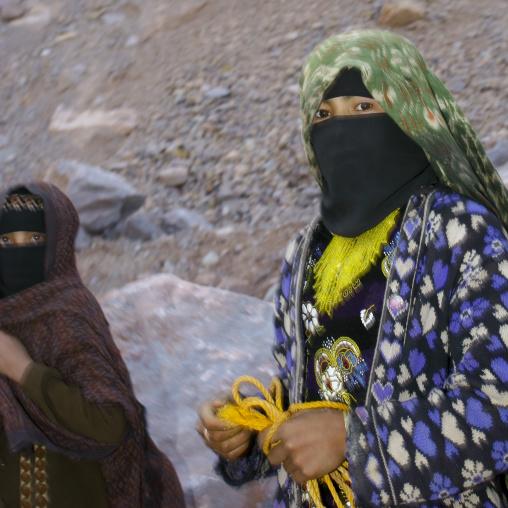 Two Teenage Girls, Hababa, Yemen