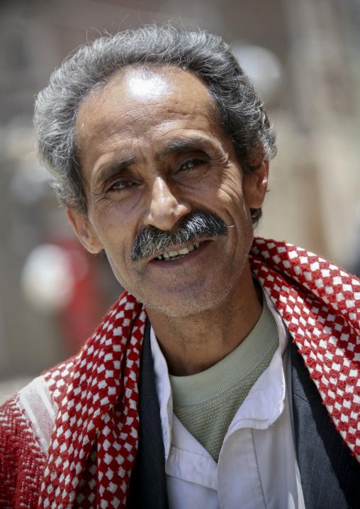 Smiling Yemeni Man, Sanaa, Yemen