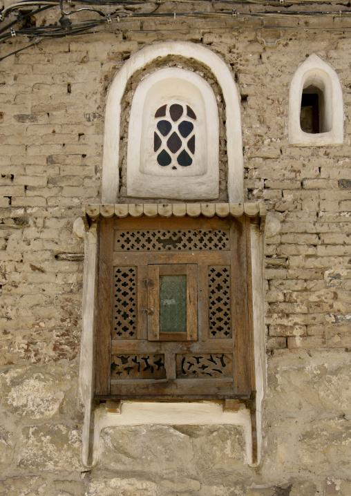 Mashrabiya And Sculpted Window, Sanaa, Yemen